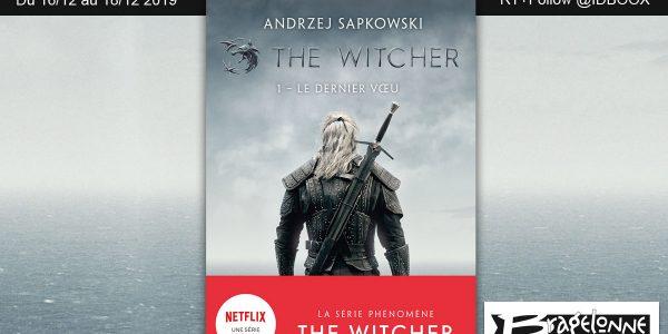 The witcher livre netflix jeu concours
