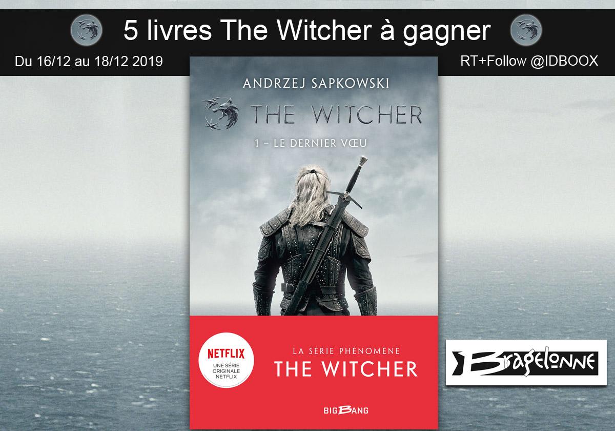 The Witcher sur Netflix 5 livres Bragelonne à gagner