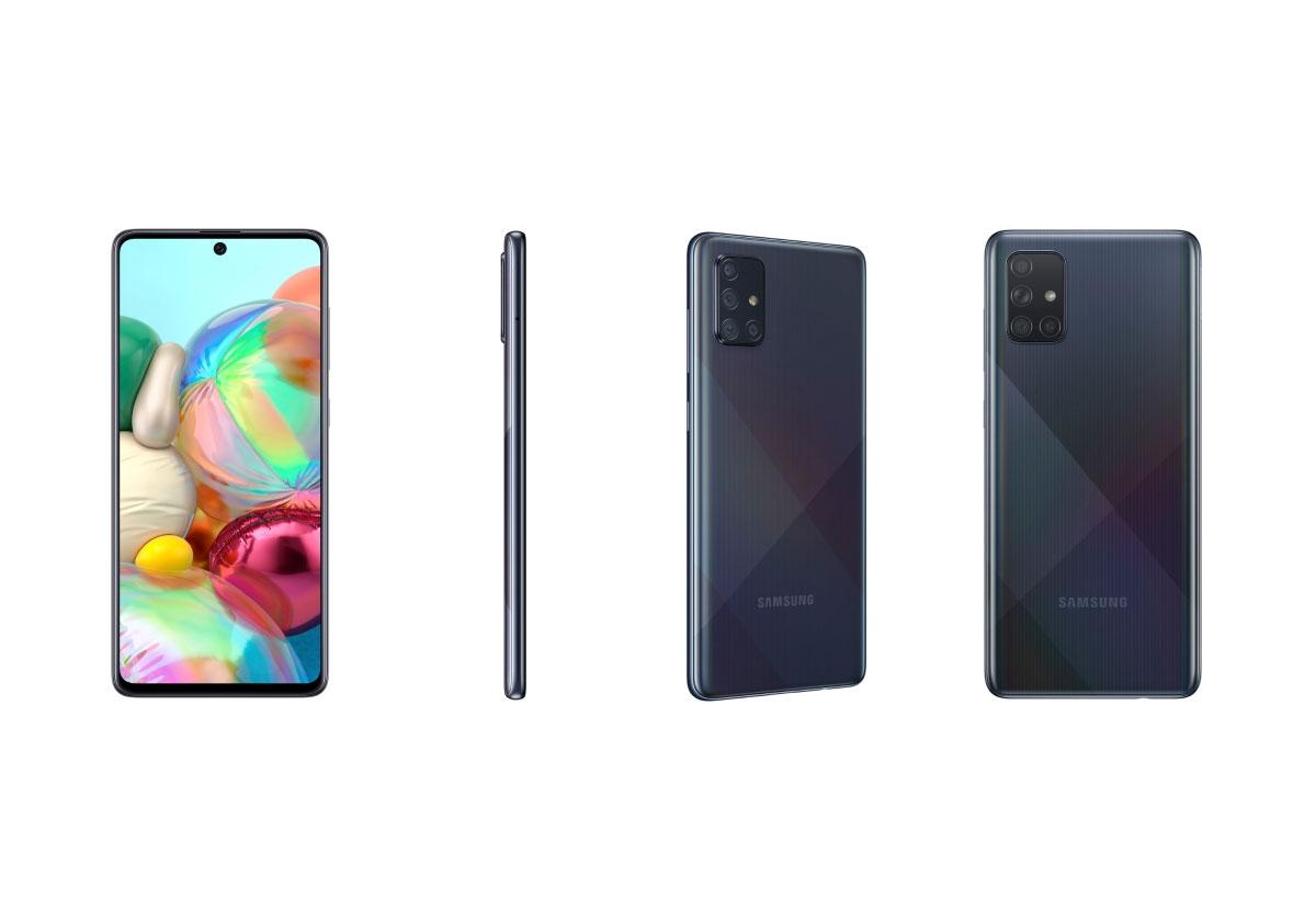 Les Samsung Galaxy A51 et Galaxy A71 sont officiels