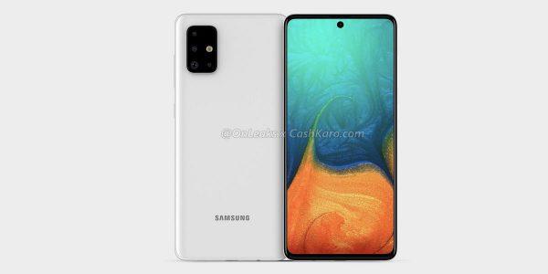 Samsung Galaxy A71 proche du Galaxy Note 10