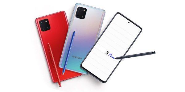 Samsung Galaxy note 10 Lite - prix et caractéristiques techniques