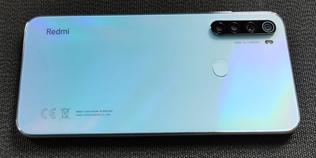 Xiaomi Redmi Note 8T Test prix et fiche technique