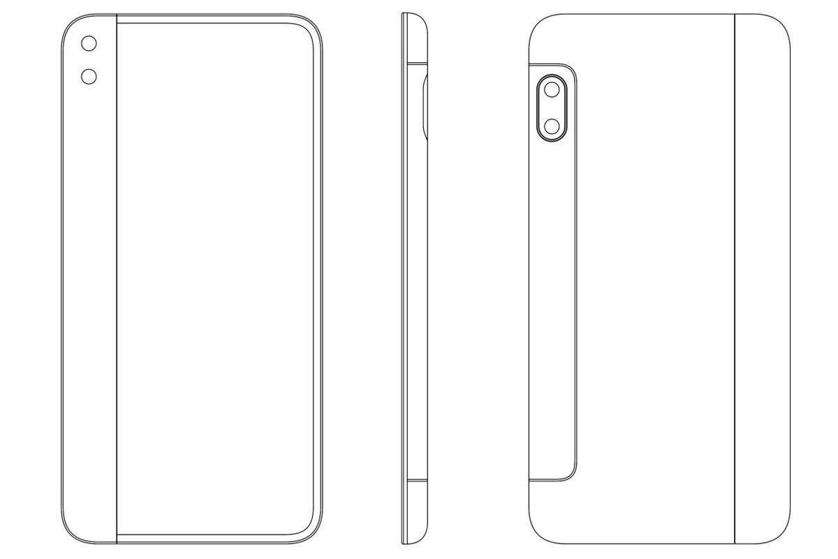 Xiaomi un brevet pour un nouveau smartphone à écran pliable
