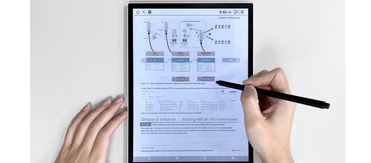 e-ink couleur ebook