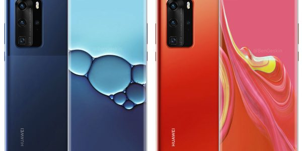 Huawei P40 Pro et P40 nouveaux visuels et couleurs