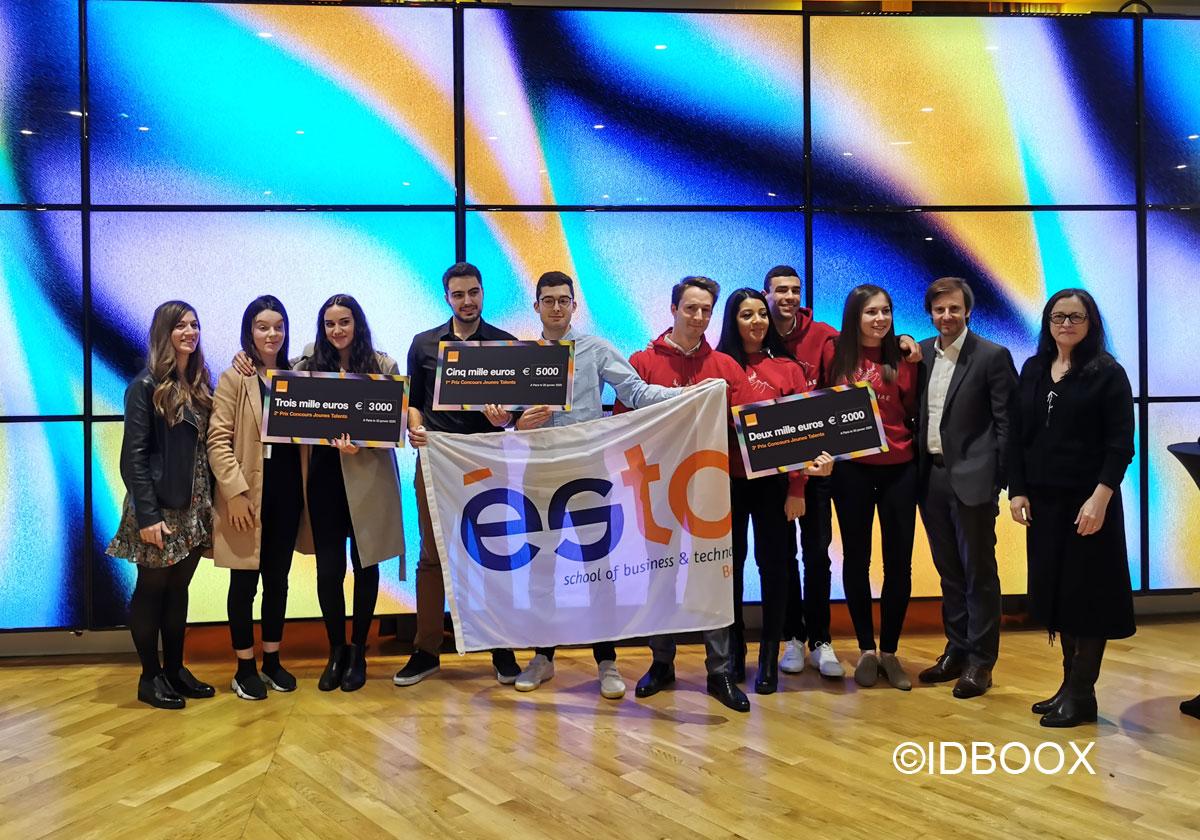 Orange Jeunes Talents 2020 pour la 5G