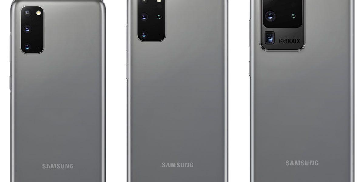 Les 3 Samsung Galaxy S20 embarquent un processeur Snapdragon 865