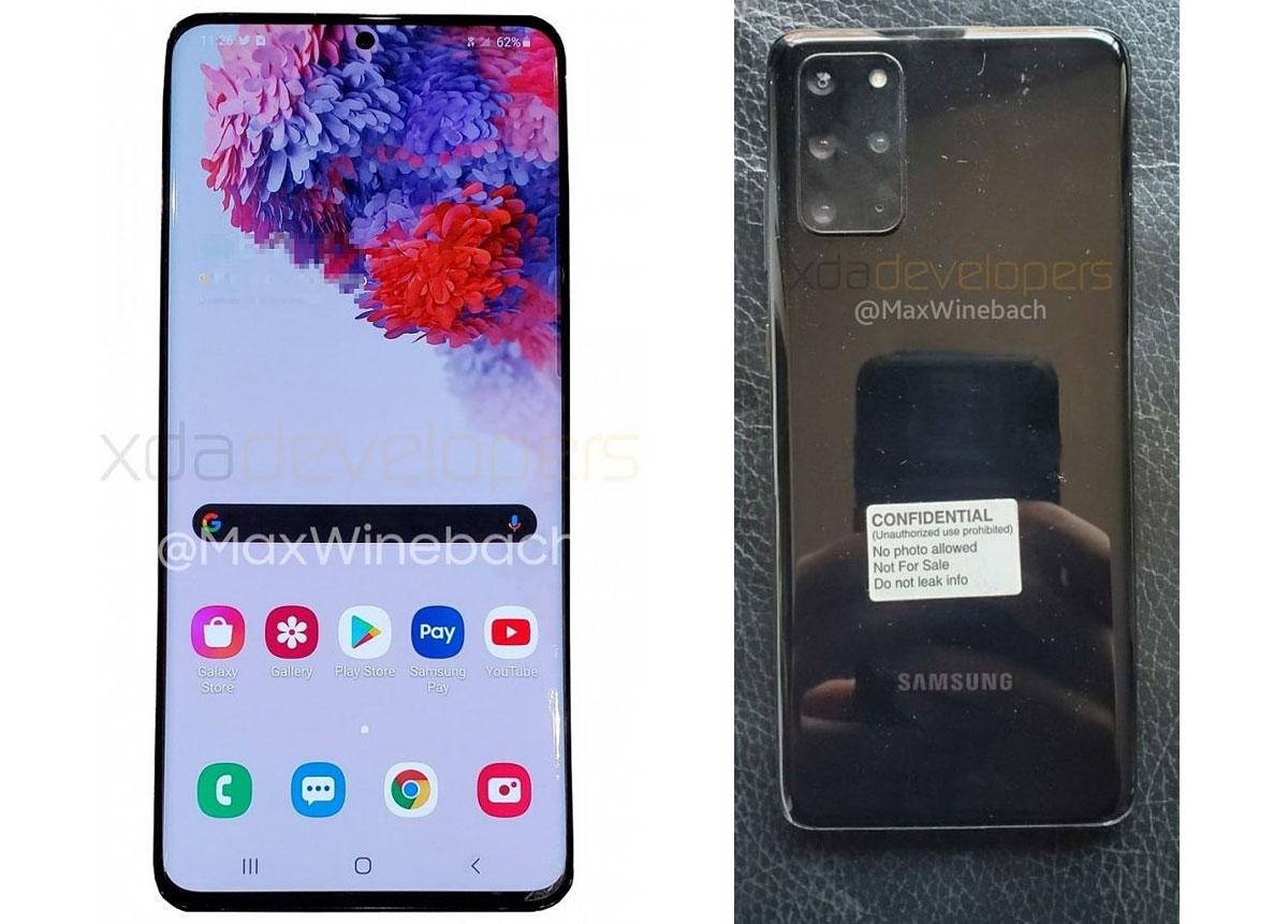 Samsung Galaxy S20 - Les détails techniques des trois smartphones