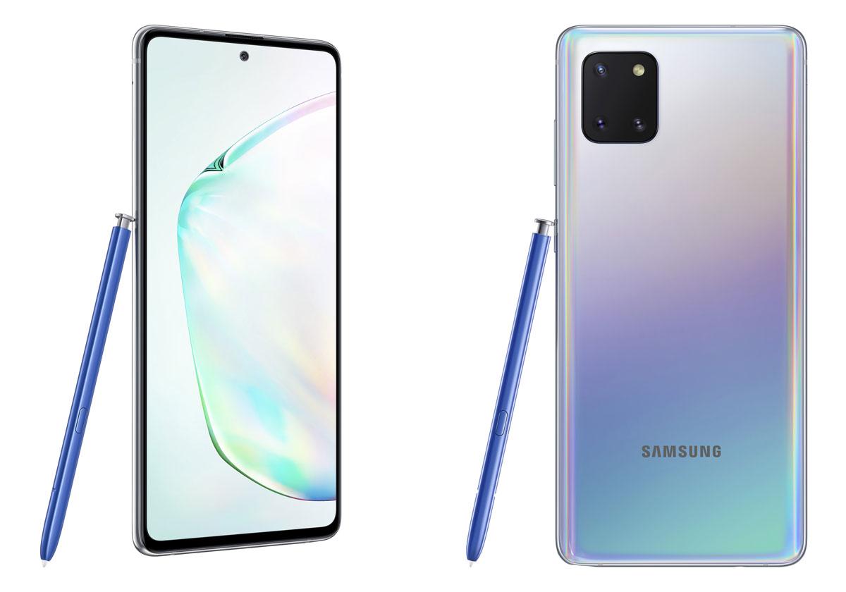 Samsung Galaxy Note 10 Lite - le prix , la fiche technique et la dispo