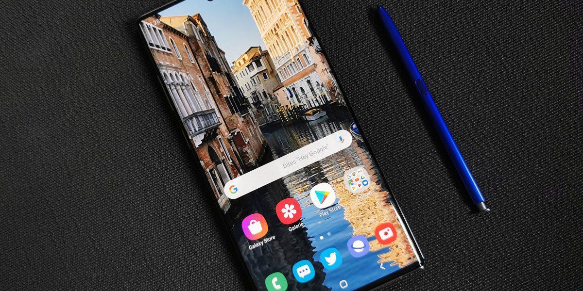 SAmsung Galaxy Note 10 bon plan