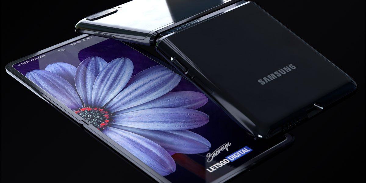 SAmsung Galaxy Z Flip avec un capteur photo de 12MP