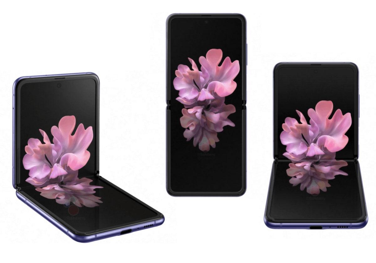 Samsung Galaxy Z Flip se dévoile entièrement
