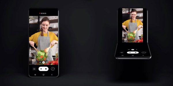 Samsung Galaxy Z Flip - Une double caméra et un deuxième mini écran
