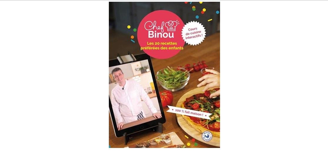 chef binou cours de cuisine interactif livre