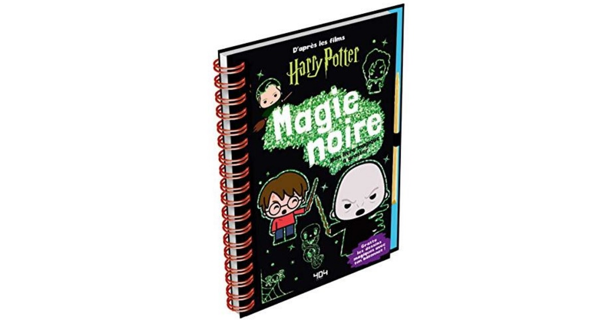 harry potter livre a gratter