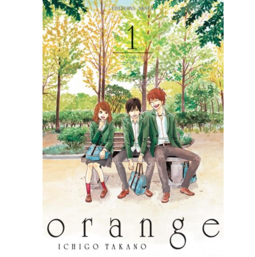 orange manga akata