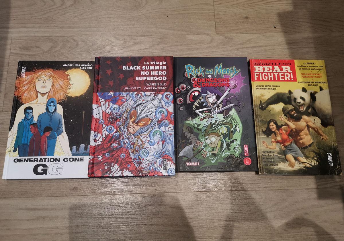 Chroniques BD Hi Comics