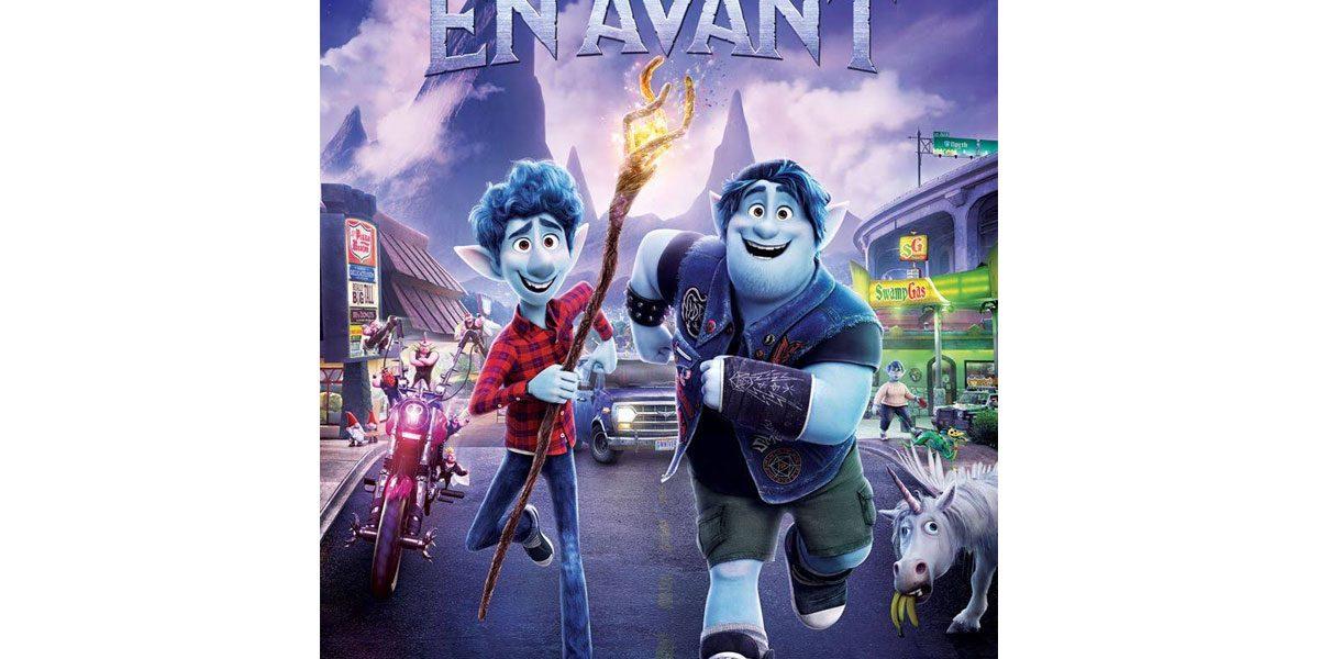 Critique cinéma En Avant Pixar Disney