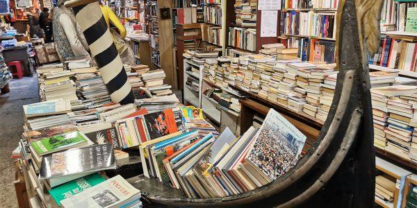 Librairie Acqua Alta Venise