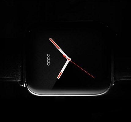 La Oppo Watch dévoilée