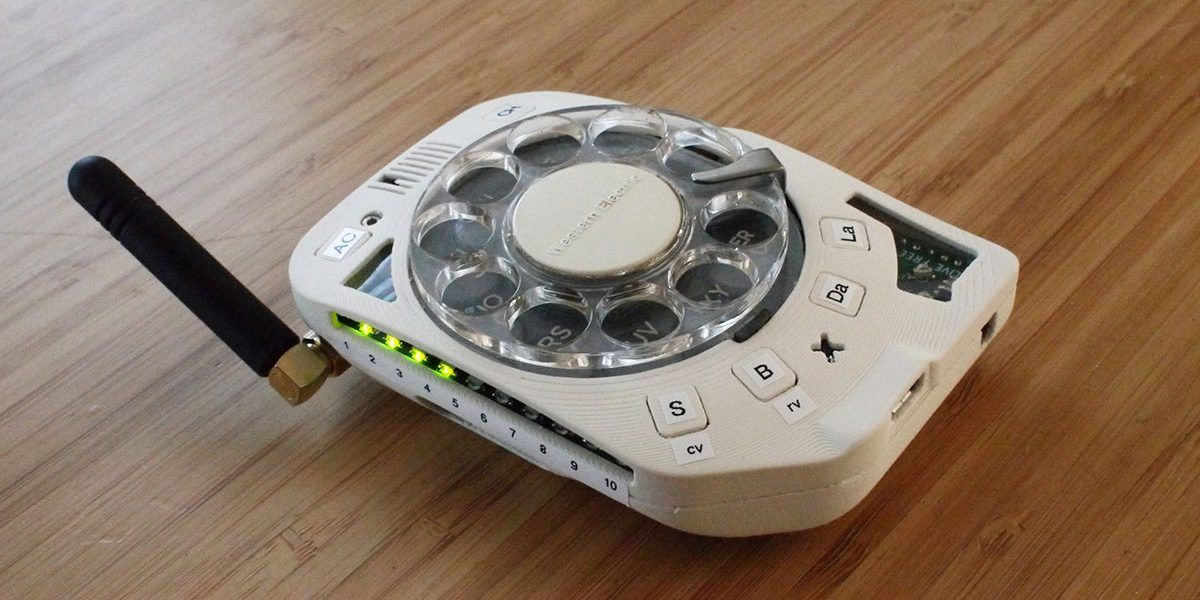rotary cell phone anti smartphone innovation