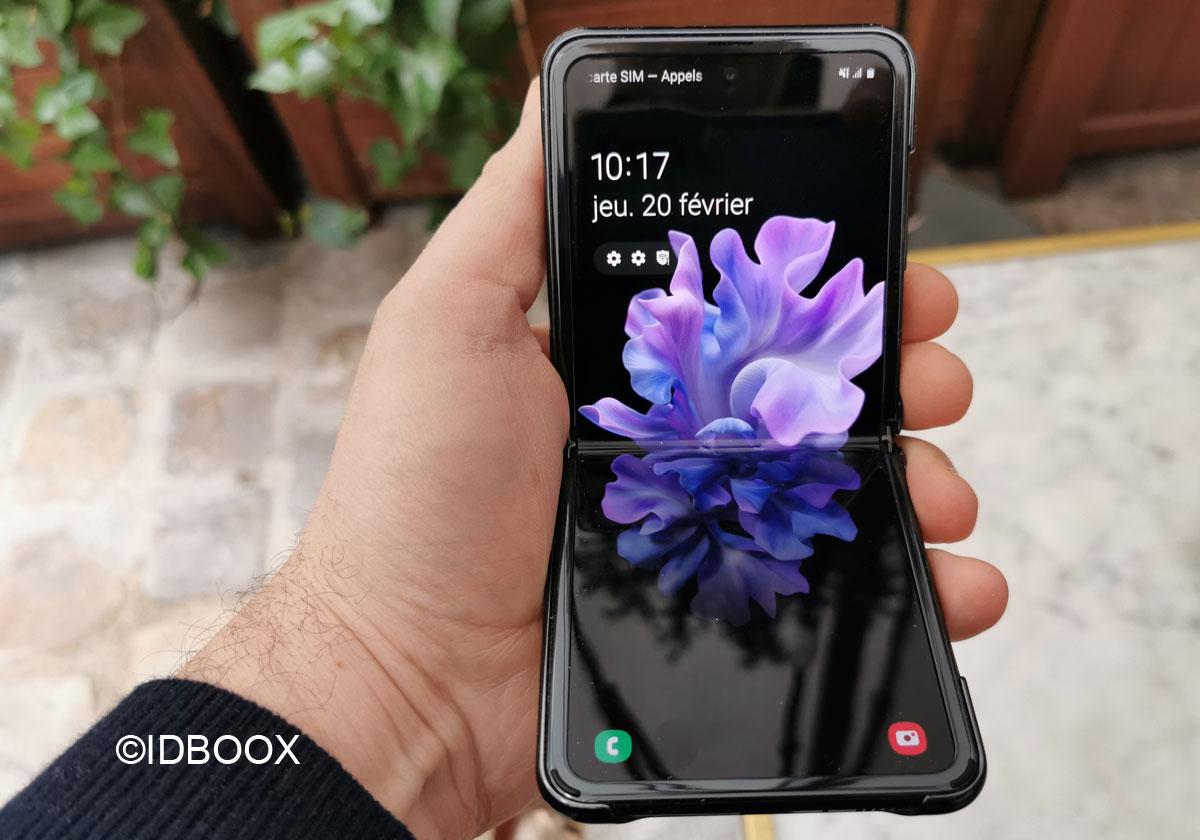 Le Samsung Galaxy Z Flip à nouveau en stock à partir de 17h