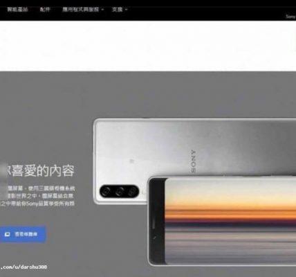 Sony Xperia 9 se dévoile a travers un nouveau visuel