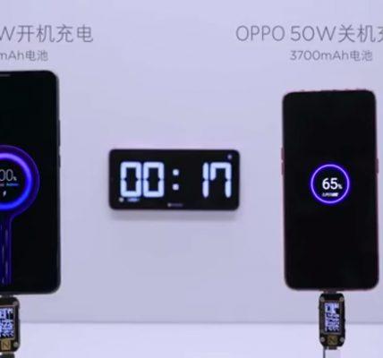 Xiaomi parle de la recharge rapide 100W