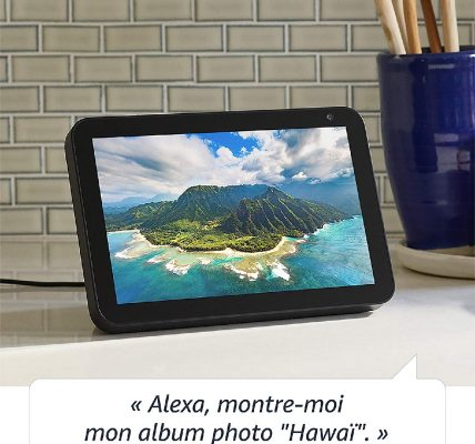 echo show 8 amazon enceinte connectée disponible