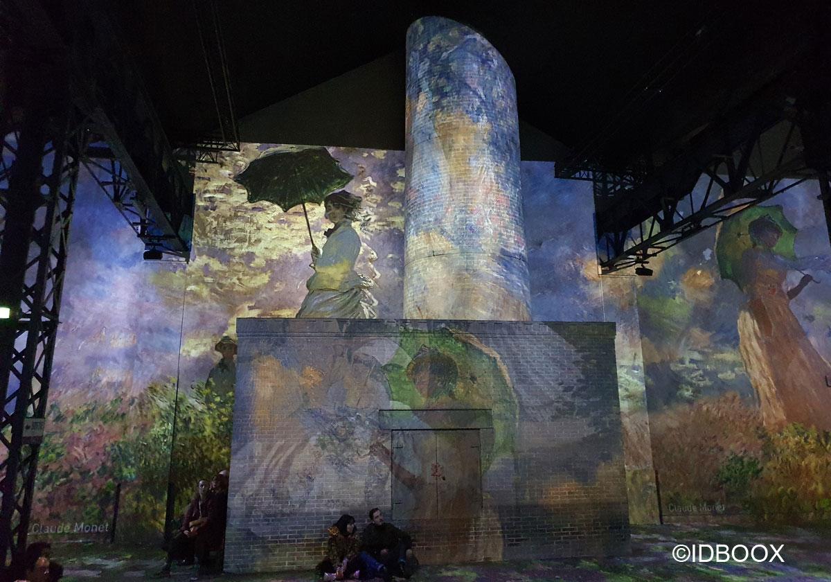 Expo Ateliers des Lumières Monet, Renoir… Chagall, Voyages en Méditerranée