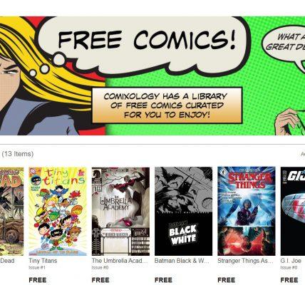 Coronavirus - Des comics gratuits pour le confinement