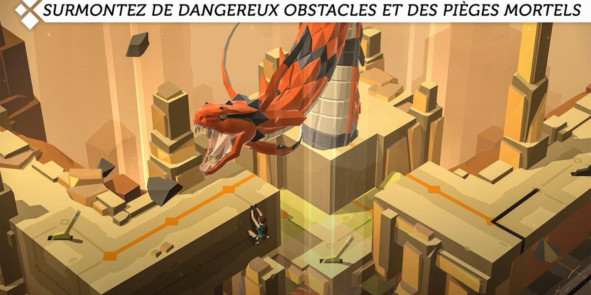 Confinement - 2 jeux vidéo gratuits Lara Croft Go et Monument Valley 2