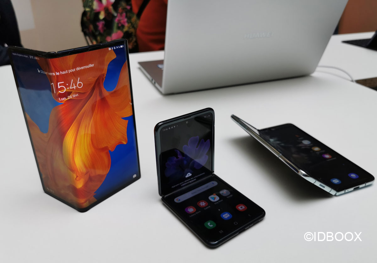 Ecran pliable Samsung augmente fortement sa production