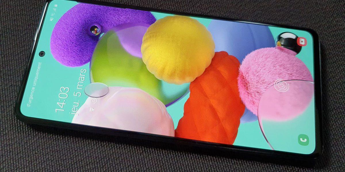 Ventes de smartphones - Le Samsung Galaxy A51 est le plus vendu en Q1 2020
