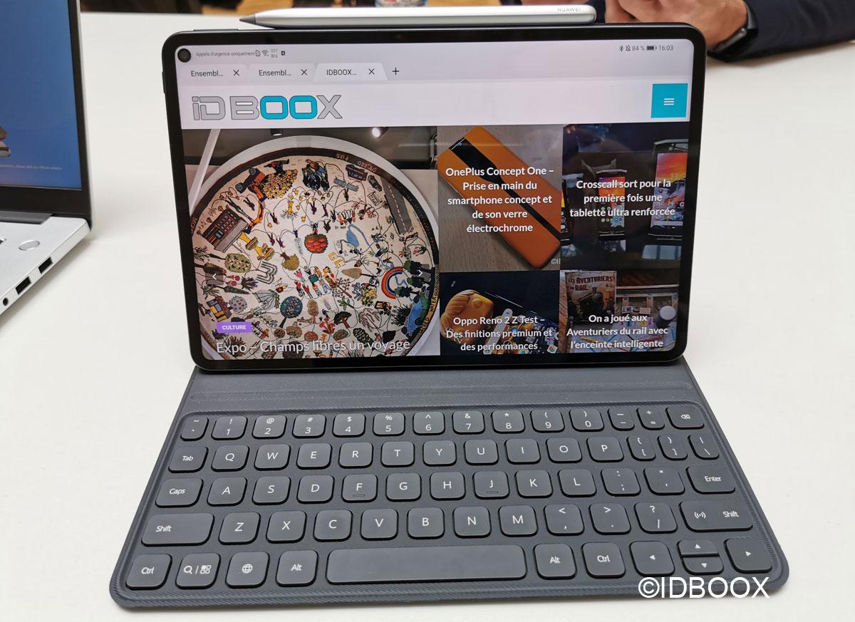 Huawei MatePad Pro prise en main