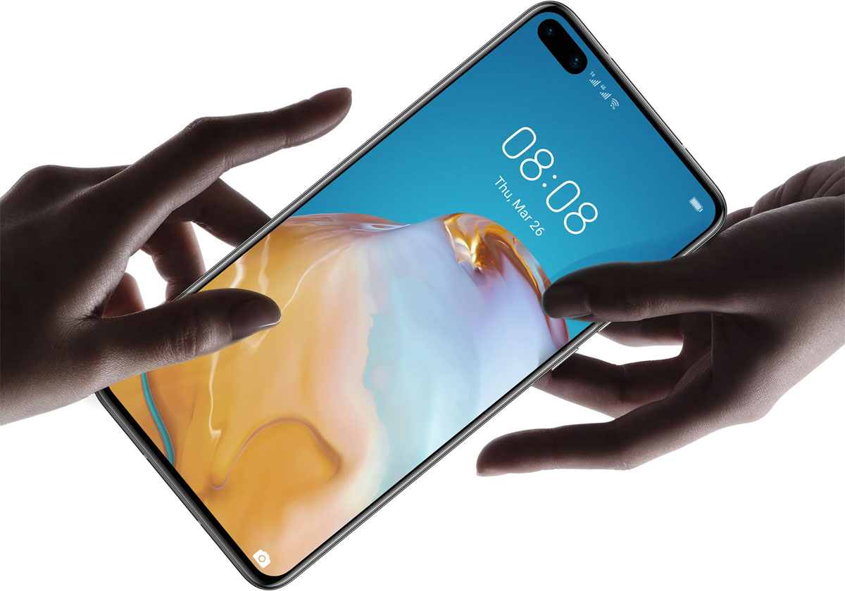 Huawei P40 - Qwant remplace Google Search