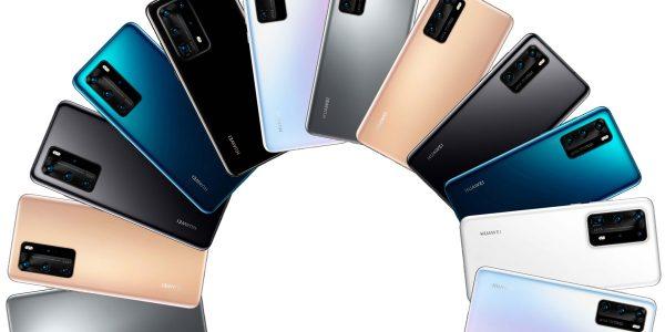 Huawei P40 tous les modèles réunis