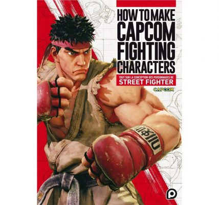 Livre How To Make Capcom Fighting Characters