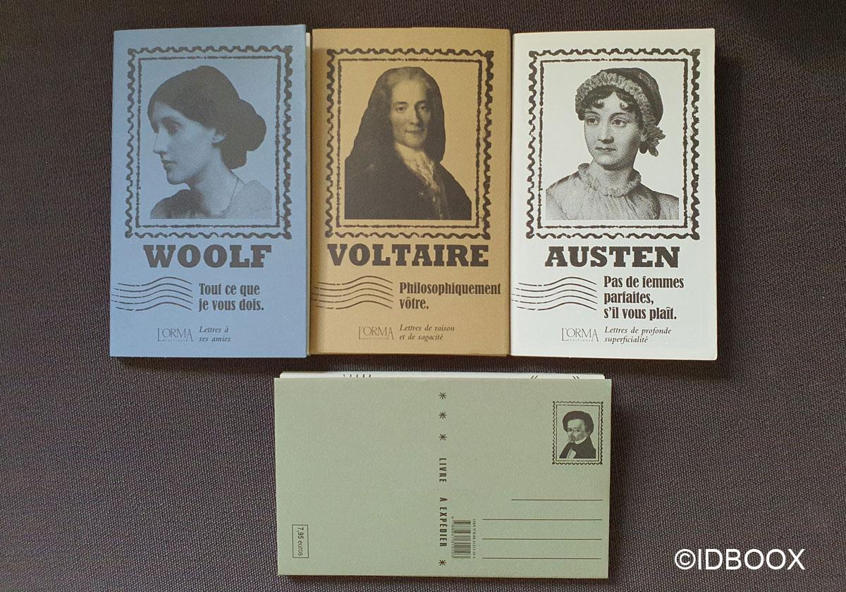 Les Plis des livres à envoyer directement par la poste