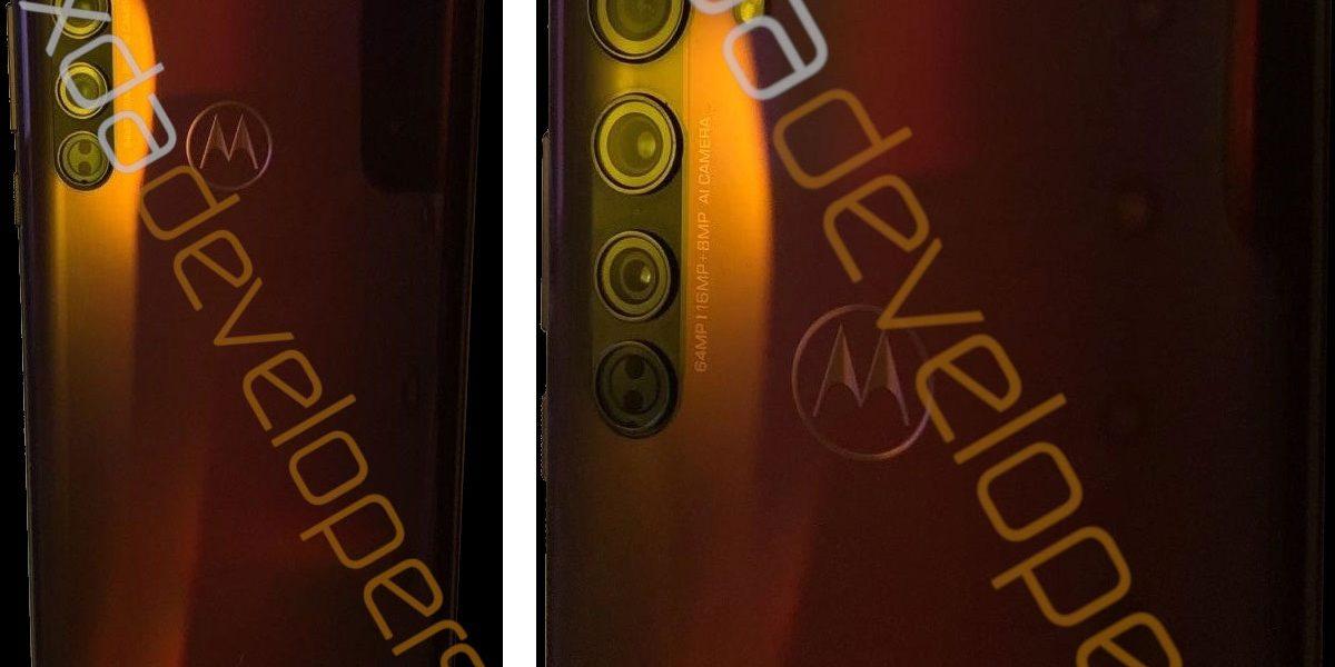 Motorola Edge - Nouvelle photos et la fiche technique