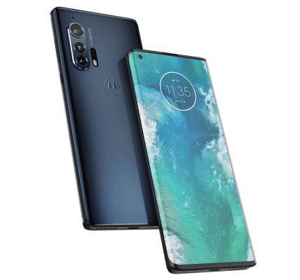 Motorola Edge+ tous les visuels
