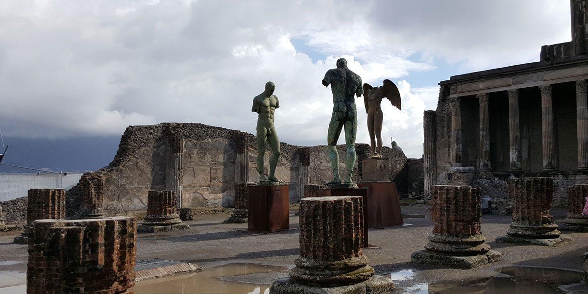 exposition Pompei Naple en ligne confinement