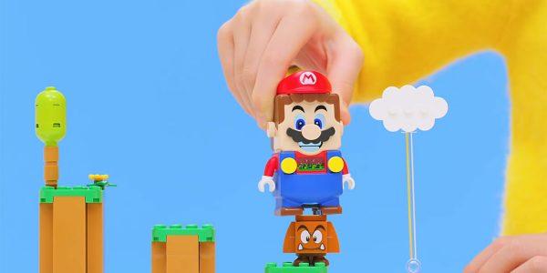 Super Mario Lego - Des sets interactifs pour une nouvelle façon de jouer