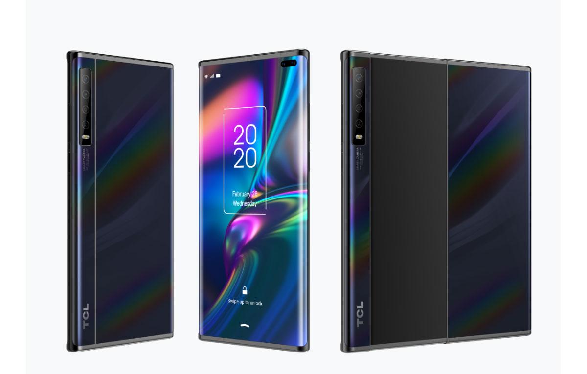 TCL dévoile deux smartphones concepts avec des écrans pliables