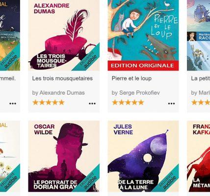 audible stories livres audio enfant confinement gratuit
