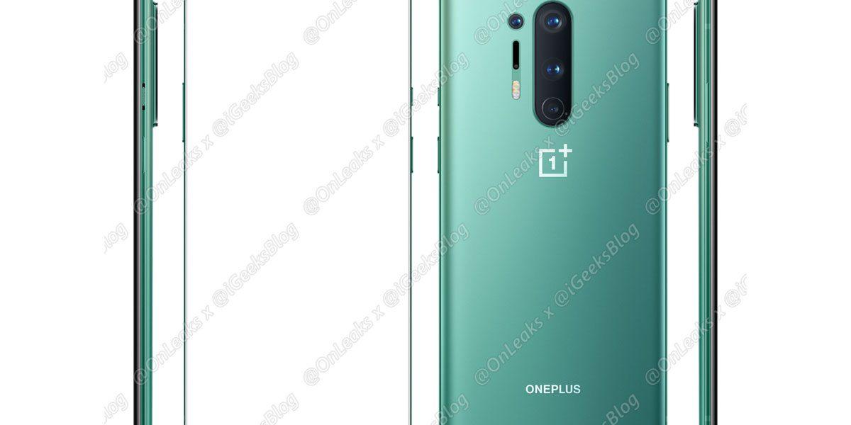 OnePlus 8 Pro et OnePlus 8 toute la fiche technique et un visuel