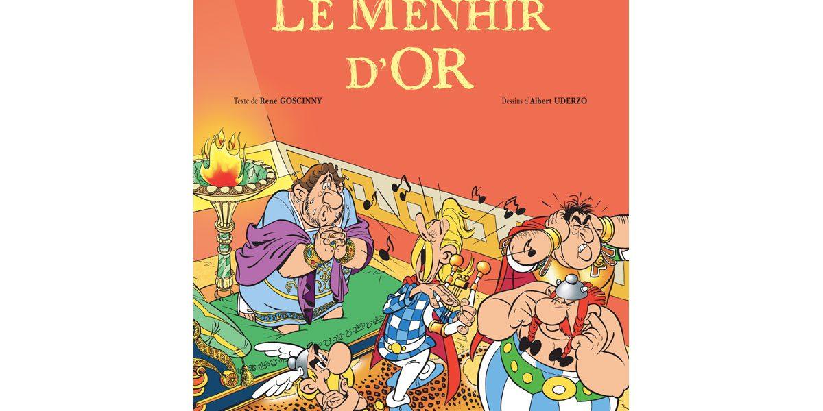 Astérix Le Menhir d'or ressort en DB avant fin 2020