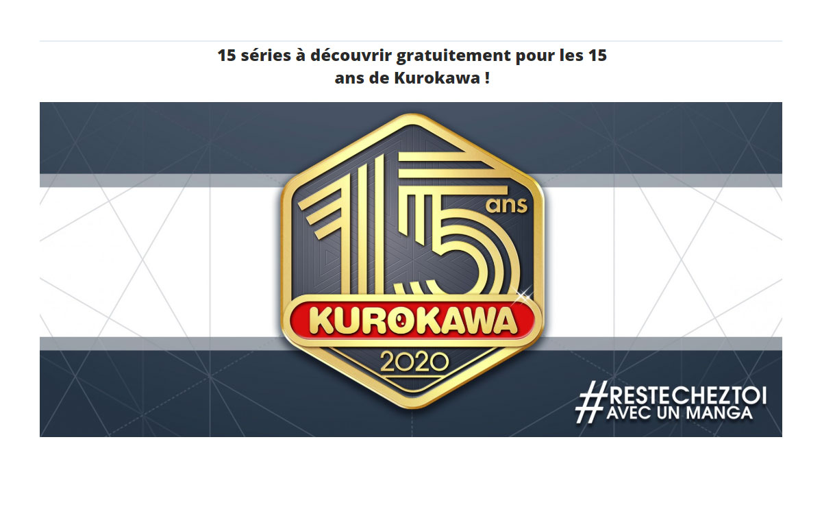 Confinement - 15 mangas Kurokawa gratuits