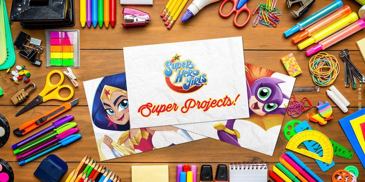 Confinement - Des activités pour les enfants DC Super Hero Girls