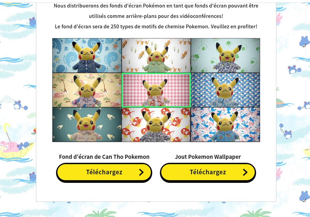 250 fonds d'écran Pokémon pour les visioconférences